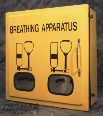 Thomas Products SCBA Cabinet Dual